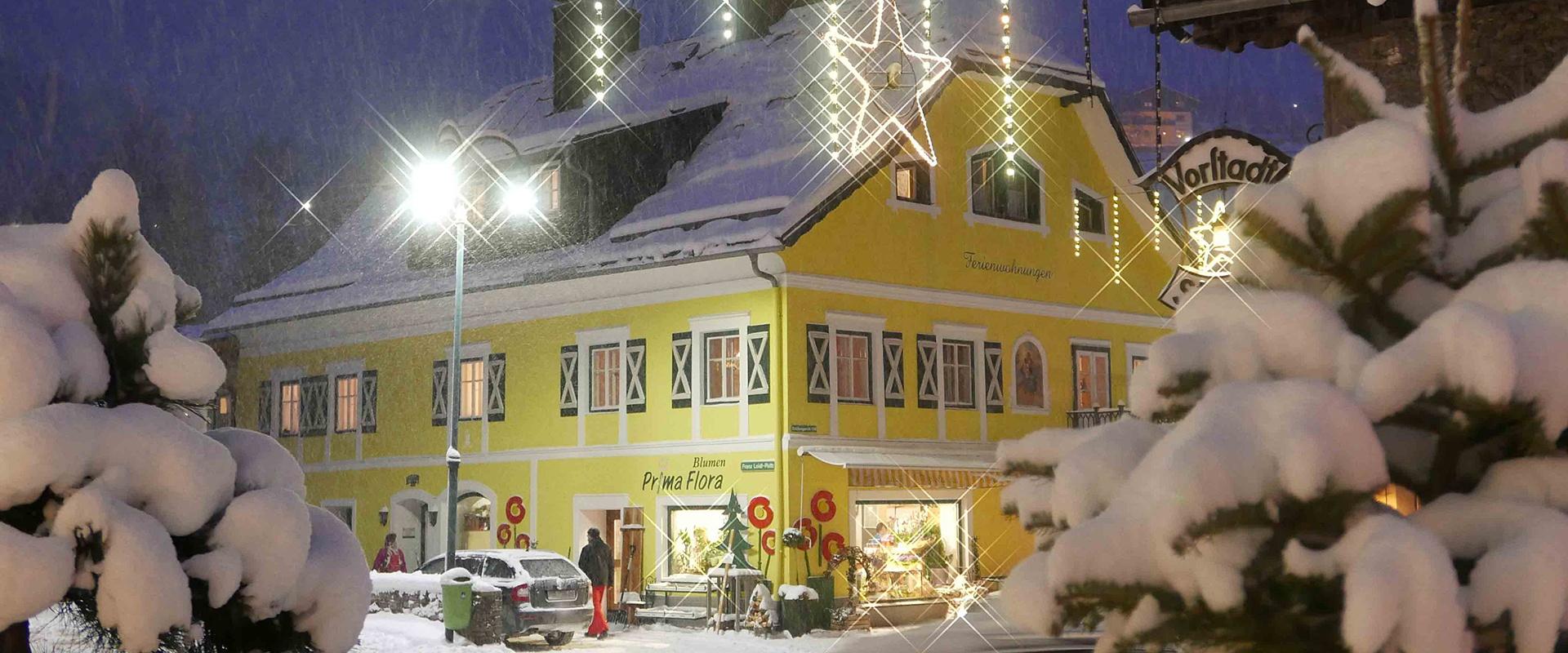 Winterbild Ferienwohnungen Royer
